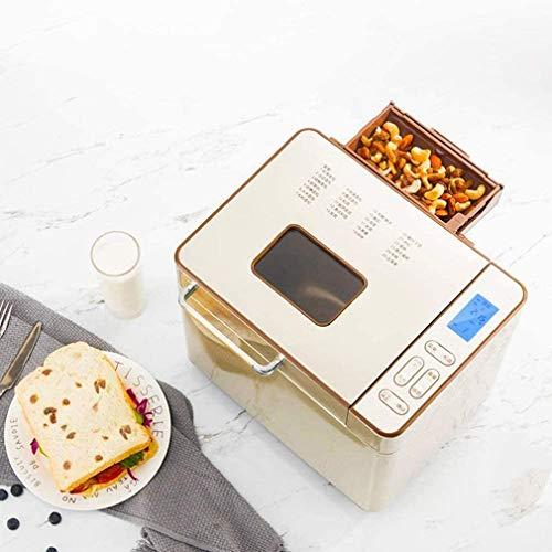 IMBM Brood Machine, Master RVS met 25 Programma's, Automatische Ingrediëntendoos, 500g-1000g Brood Gewicht, Brood Machine met 13 uur Timer Functie, Observatie Venster