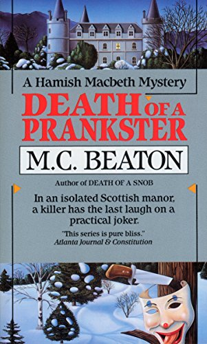 Death of a Prankster (Hamish Macbeth Mysteries,... 0804111022 Book Cover