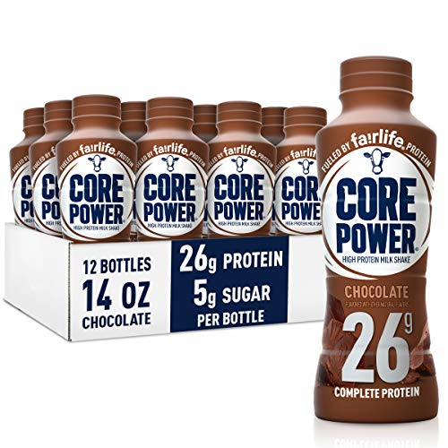 Fairlife Core Power High Protein Milk Shake Chocolate 14 FL Oz Pack of 12