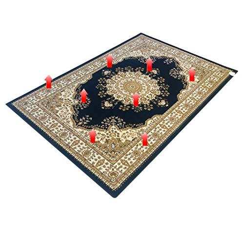 FUTNhot verwarming tapijt, koolstofkristal warm pad verwarming onderdeken mobiel elektrisch geothermaal etageplan woonkamer slaapkamer warm vloerkleed 62 x 90 in