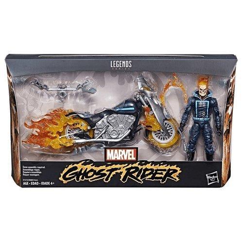 Hasbro Marvel Ultimate Legends Figur Ghost Rider, Mehrfarbig (LCDF9738)