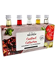 Monin Cocktail Syrup Gift Set 5 x 5cl