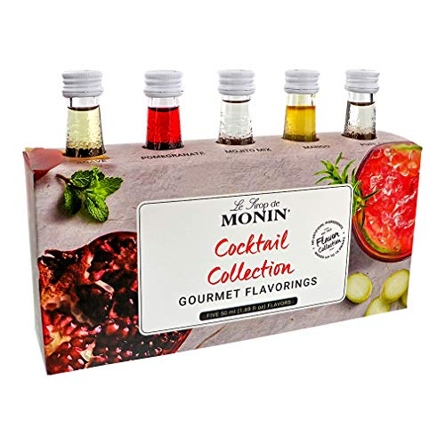 Monin Le Sirop de Monin COCKTAIL SYRUPS SET 5x0,05l - 250 ml