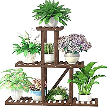 Cfmour Multi Layer Wood Plant Stand