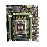 Ixkbiced Placa Base X79G M.2 Placa Base LGA 2011 DDR3 para CPU In-Tel Xeon E5 Core I7
