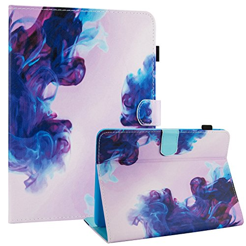 Galaxy Tab 4 10.1 Case,T530 Case,Dteck PU Leather Flip Stand Case with Auto Wake/Sleep Feature Folio Wallet Smart Shell Cover for Samsung Galaxy Tab 4 10.1 SM-T530NU T531 T535 Tablet,Pink Cloud