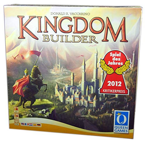 Queen Games 60833 - Kingdom Builder mehrsprachig - DE, GB, FR, NL, SP