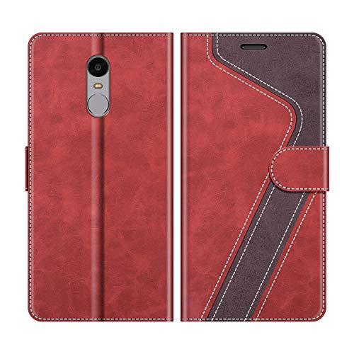 MOBESV Funda para Xiaomi Redmi Note 4, Funda Libro Xiaomi Redmi Note 4, Funda...