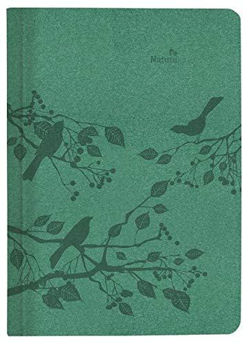 Buchkalender Nature Line Forest 2021 - Taschen-Kalender A5 - 1 Tag 1 Seite - 416 Seiten - Umwelt-Kalender - mit Hardcover - Alpha Edition