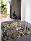 benuta Alfombra Liguria Gris 120 x 180 cm | Moderna Alfombra para salón y Dormitorio