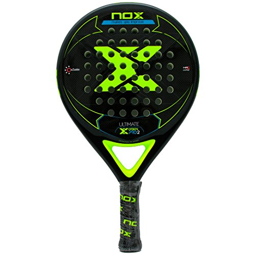 NOX Pala pádel Ultimate Carbon Pro 2 Yellow