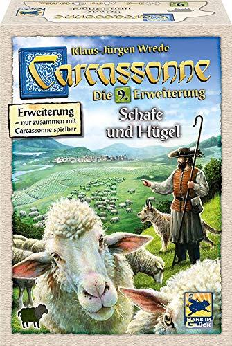 カルカソンヌ:羊飼いと丘 拡張セット9 (2018年版) Carcassonne Erweiterung 9: Schafe und Hugel (2018 Edition) [並行輸入品]