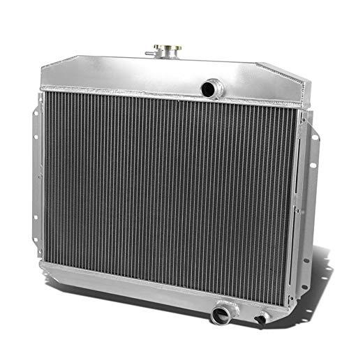 OzCoolingParts 61-64 Ford F-Series Radiator, 3 Row Core Aluminum Radiator for 1961-1964 62 63 Ford F-100 F-250 F-350 Pickup Truck, L6 V8
