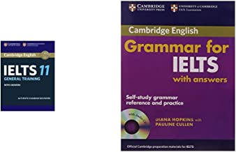Cambridge English: IELTS 11 General Training with Answers (With Audio CD) + Cambridge Grammar for Ielts with Answers and Audio CD (Set of 2 Books)