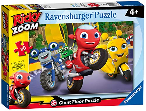 Ravensburger 3051 Ricky Zoom Zoom-60 Piece Jigsaw Puzzle for Kids Age 4 Years and up