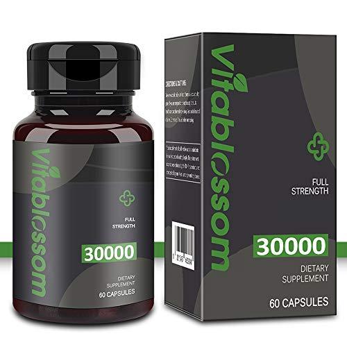 Ha-nf Kapseln, Hochdosiert & Kaltgepresst 30000 mg Hochwertige Pflanzliche Omega 3-6-9 Fettsätze (1 PACK)