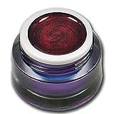 5ml Glittergel Tender Rot Dunkelrot Premium UV Farbgel Nagelgel