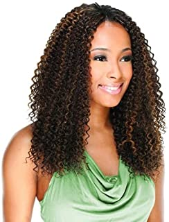 BRAZILIAN JERRY BUNDLE CURL 4PCS (1B Off Black) - Freetress Equal Synthetic Weave