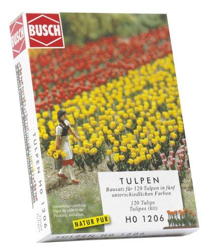 Hornby France - Busch - 1206 - Circuit - Train - Tulipes