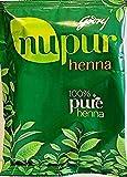 Godrej Nupur Henna Natural Mehndi for Hair Color with Goodnes, 400 Grams