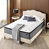 ZINUS 12 Inch Cool Touch Comfort Gel-Infused Hybrid Mattress / Pocket Innersprings for Motion Isolation / Mattress-in-a-Box, Twin