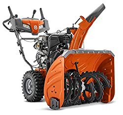 in budget affordable See Husqvarna ST327, Husqvarna ST327, 27-inch, 291cc electric start with a two-stage gas snowplow …