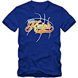 True Knick #3 Camiseta | Hombre | Basketball | Play Offs | Champion | Basketball Shirts | American Sports | USA | T-Shirt, Colour:Blue (Royal Blue);Size:Large