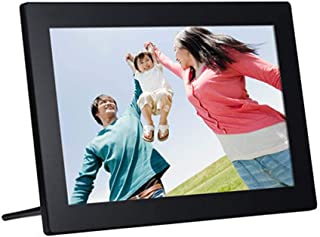 WW/&C Digital Photo Frame 15 Inch Smart Digital Photo Frame Display Photos with Background Music 1080P Video Digital Picture Frame,Black