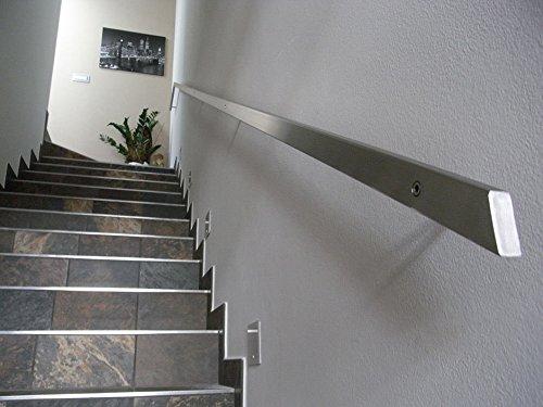 Corrimano inox rettangolare 40 x 20 mm (1500 mm)