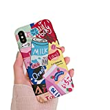 Best  - Kawaii Japanese Strawberry Milk Drink Bottle Phone Case Review