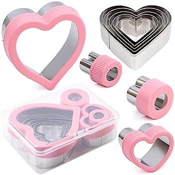 Best heart cookie cutter set Reviews