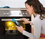 AUGYM Drahtlose Küche Essen Kochen Thermometer für BBQ Smoker Grill Ofen Fleischthermometer mit...