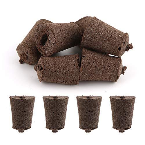 LUTER 50 Piezas Esponjas de Cultivo Esponjas de Aerogarden Esponja de Planta Compatible con Plántulas de AeroGarden Vainas para Sistema de Cultivo Hidropónico de Interior