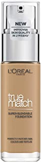 L'Oreal Paris True Match Liquid Face Foundation - 30 ml, Honey 6N