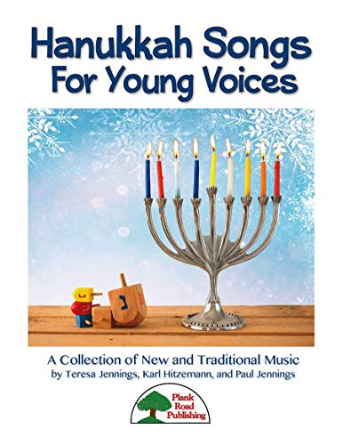 Hanukkah Songs For Young Voices - Kit with CD