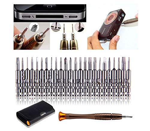 Mini-schroevendraaierset, precisieschroevendraaierset, 25-in-1, reparatieset voor brillen, smartphones, iPads, tablets, mobiele telefoons, pc, laptop, elektronica 180326 reparatiegereedschap