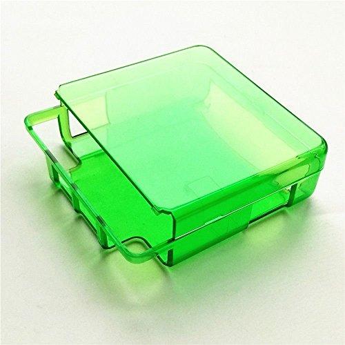 Schutzhülle für Gameboy Advance SP GBA SP Spielekonsole, transparent grün