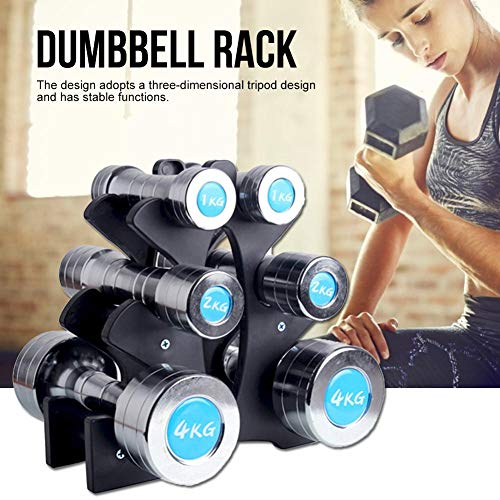 learnarmy-Dumbbell-Rack-for-Small-Dumbbells-No-Dumbbells-3-Tier-Dumbbell-Holder-Dumbbell-Tower-Fitness-Equipment-Accessories