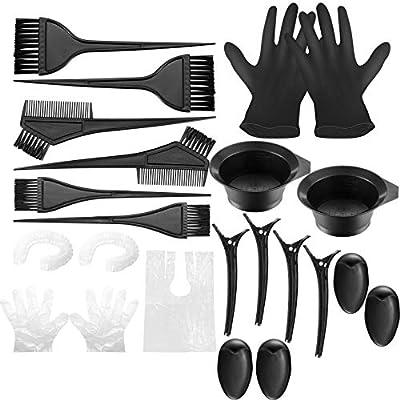 22 Stück Haarfärbemittel Kit