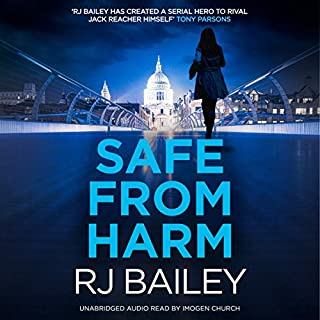 Safe from Harm audiobook cover art