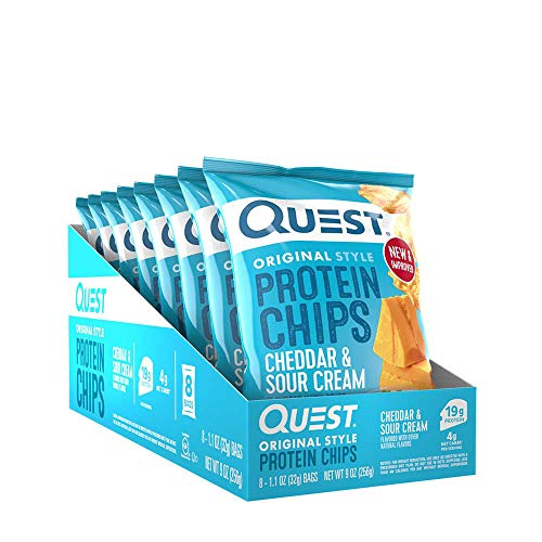 Quest Protein Chips - Cheddar and Sour Cream by Quest