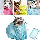 Une bonne aide à la baignade: vous obtiendrez 2 morceaux de sacs de douche de chat réglables;Avec ces sacs, vous pouvez effectivement empêcher les chats de se gratter ou de vous mordre tout en donnant à votre chat un bain Design créatif: la fermeture...
