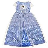 Short sleeve nightgown, toddler and little girls sizes 100% polyester, tulle skirt Princess Elsa