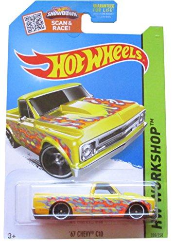 Hot Wheels 67 Chevy C10 (Yellow) - HW Workshop Heat Fleet CFH94 208/250