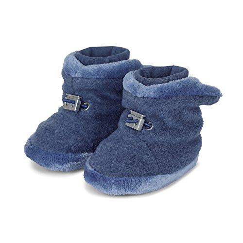 Sterntaler Baby-Schuh Stiefel, Blau (Tintenblau Melange), 17/18 EU