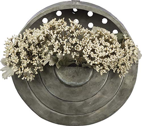 Primitives by Kathy Metal Wall Pocket, 9' in Diameter, Round