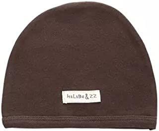 Soft Infant/Toddler Hat Cute Hat Pure Cotton Sleep Cap, Brown