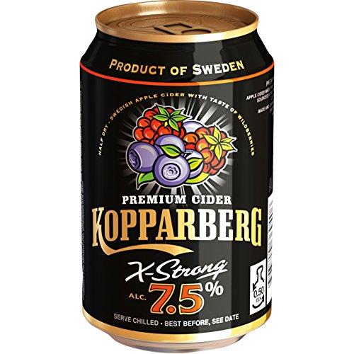 72x KOPPARBERG WILDBEERE 7,5% 0,33L Incl. Goodie von Flensburger Handel