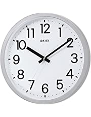 DAILY(リズム時計)  クォーツ時計 フラットフェイス