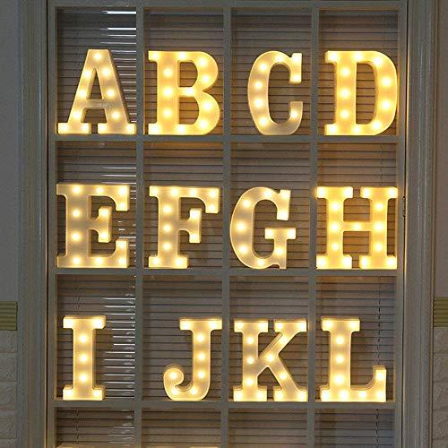 A/B Fernbedienung Led 26 Englisch Buchstaben Modellier Lichter Urlaub Hochzeit Raumdekoration Nachtlicht Dekoration Lichter-Buchstabe Y_Remote Steuerung